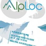 ulotka ALPloc - grafika reklamowa