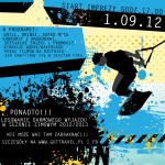 plakat Wakepark - grafika reklamowa